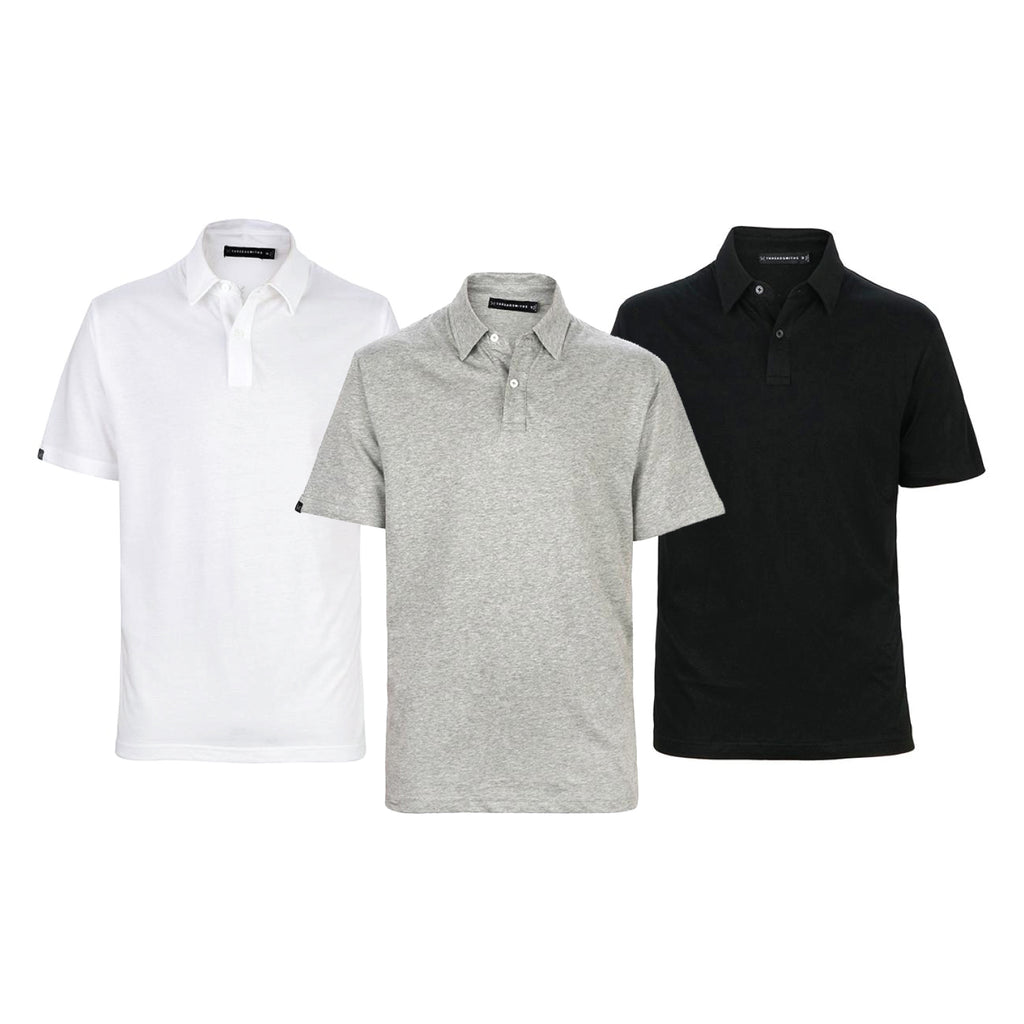 The Game - Men's 3 Pack Polo Save
