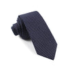 Grind - Navy Blue Skinny Dot Tie - Threadsmiths