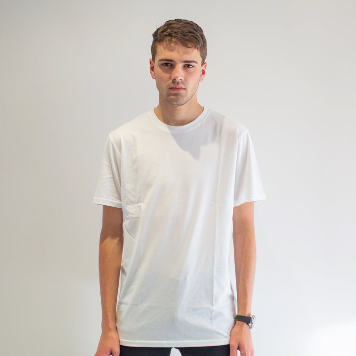 Cavalier - Men's White T-Shirt - Threadsmiths