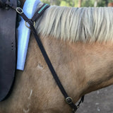 Ballynahinch Tack Braided Leather Breastplate
