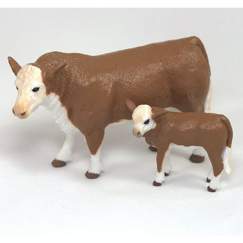 Big Country Toys Hereford Cow and Calf- Order In