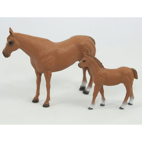 Big Country Toys Quarter Horse Mare and Foal- Order In