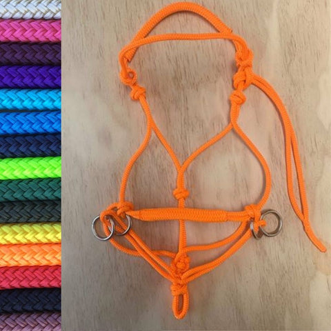 Ballynahinch Tack Rope Bit-less Bridle