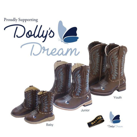 Baxter Dolly Junior Boots- Pre Order