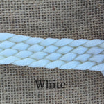 Ballynahinch Tack Rope Flat Plaited Split Reins- Loop