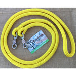 Ballynahinch Tack Rope One Reins with clips- Yellow