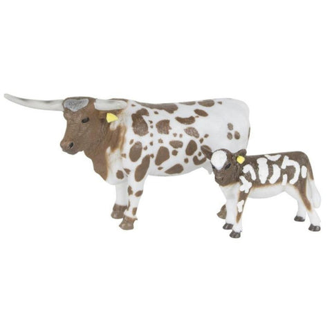 Big Country Longhorn Cow & Calf -Order In