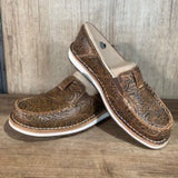 NEW ! Ariat Womens Cruiser-Brown Floral Emboss