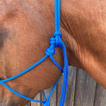 Ballynahinch Tack Rope Halter 6mm- Sky Blue