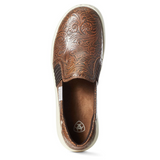 NEW ! Ariat Womens Ryder -Brown Floral Emboss