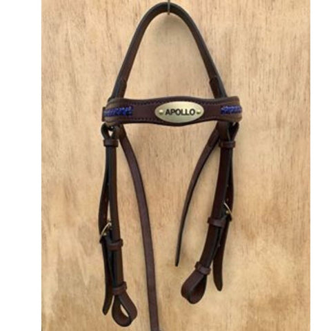 Ballynahinch Tack Leather Keela Bridle