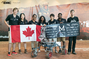 3D Printed Mars Rover Parts for the McGill University Robotics Team, Winning 3rd Place at the European Rover Challenge!