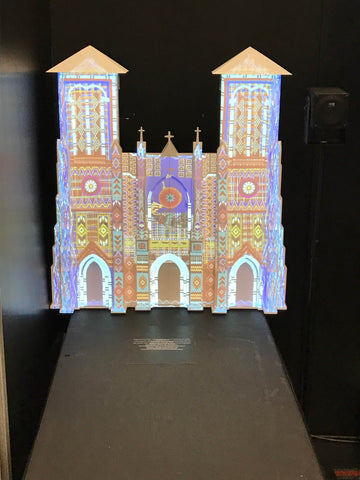XYZ Technologie Culturelle 3D Printed San Fernando Cathedral