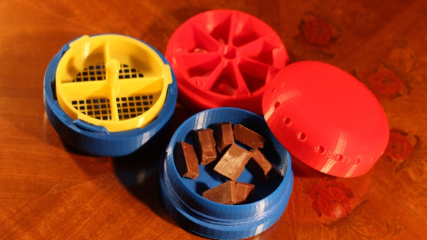 3D Printed Pill Coater
