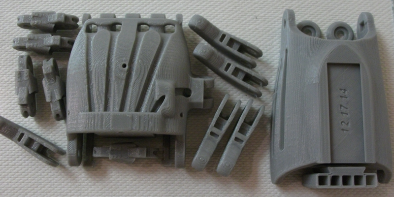 3D Printed Prosthetic Hand Parts