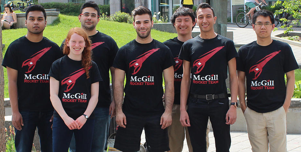 MatterThings 3D Printing Services Sponsors the McGill Rocket Team