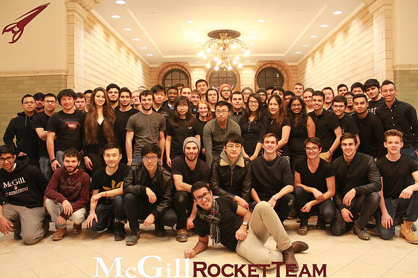 McGill Rocket Team Group Picture