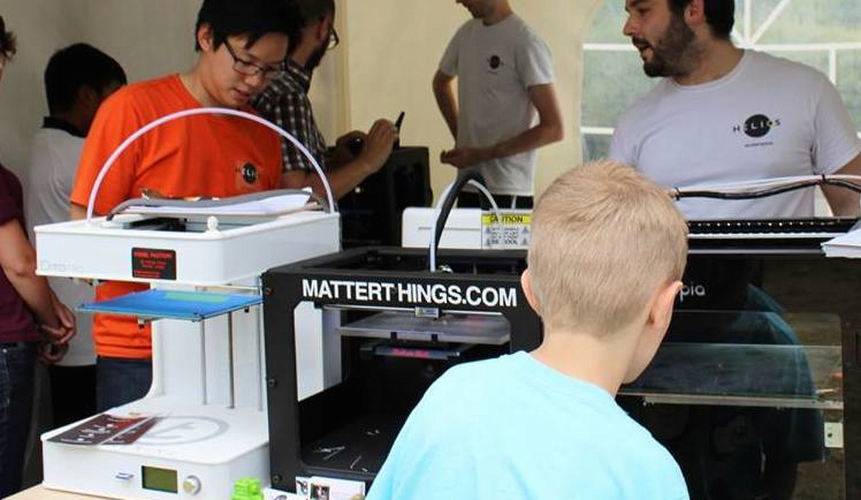 Helios Makerspace at Startupfest Family Day
