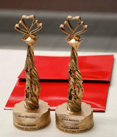 MatterThings Canada China FIlm Festival Trophies
