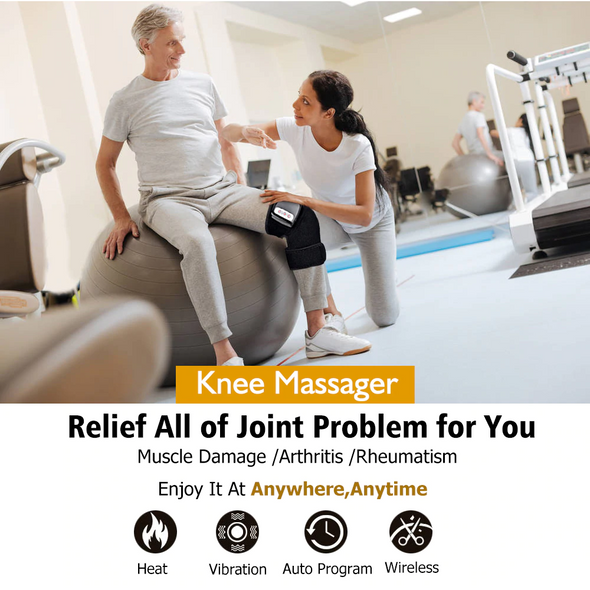 Knee Wrap Massager for Joint Pain Relief