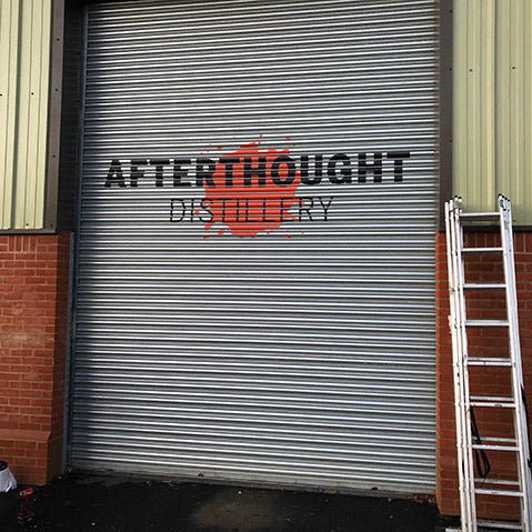 Afterthought distillery door