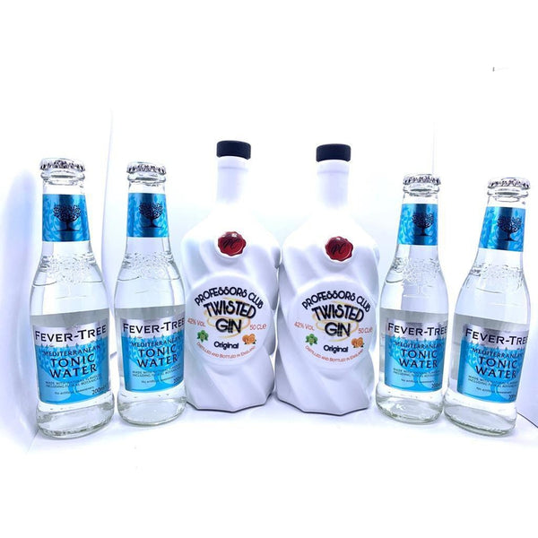 Professors Club Original Gin twin pack with tonics