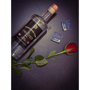 Professors Club Navy Strength Twisted Gin (70cl) with J.Coco Artisan Chocolate - Afterthought Spirits Company Ltd