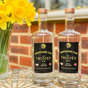 Professors Club Navy Strength Twisted Gin Twin pack (70cl) - Afterthought Spirits Company Ltd