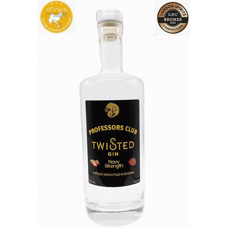 Professors Club Navy Strength Twisted Gin (70cl) - Afterthought Spirits Company Ltd