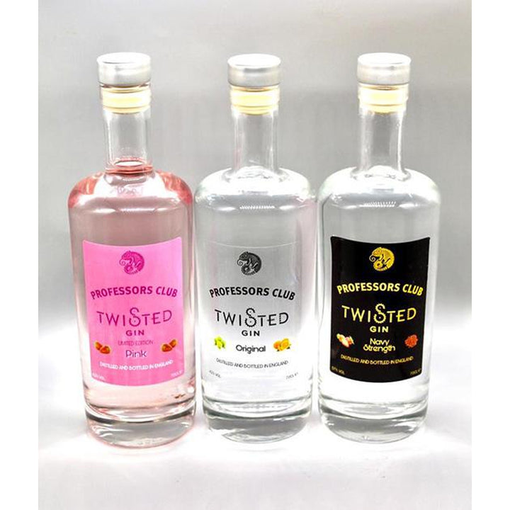 Professors Club Triple pack of our Award Winning Gins (70CL) - Afterthought Spirits Company Ltd