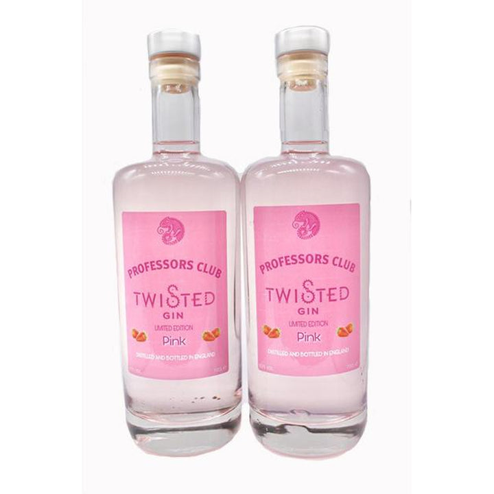 Professors Club Pink Gin Twin Pack (70cl) - Afterthought Spirits Company Ltd