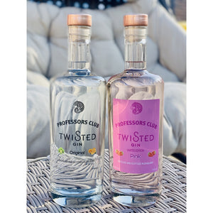 Professors Club Pink & Original Gin Twin pack (70cl) - Afterthought Spirits Company Ltd