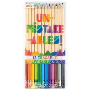 ooly - Un-Mistake-Ables! Erasable Colored Pencils