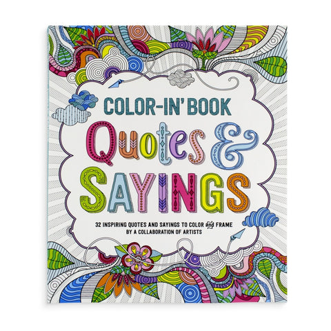 ooly - Color-in' Book: Quotes & Sayings