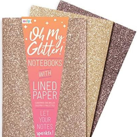 ooly - Oh My Glitter! Notebooks in Metals