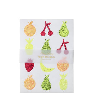 Meri Meri - Glitter Fruit Sticker Sheets