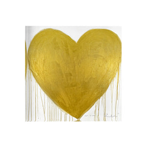 KERRI ROSENTHAL -  Heart of Gold Drippy Heart Block of Love