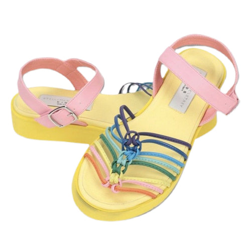 STELLA MCCARTNEY - Sandals in Multicolor Knotted