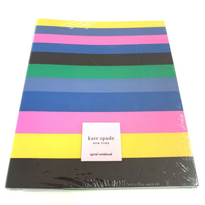 Kate Spade - Notebook in Enchanted Stripe