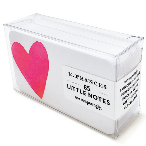 E. Frances - Big Heart Little Notes