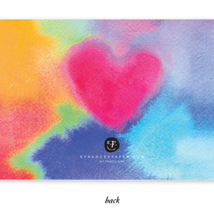 E. Frances - Tie Dye Love Little Notes