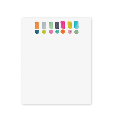 E. Frances - Exclamation Mini Notepad