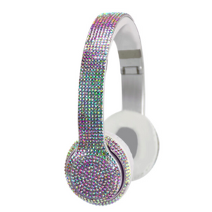 Wireless Express - Bluetooth Headphones with Iridescent Bling