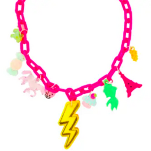 Sadie's Moon - Charm-Tastic Lightening Bolt Necklace