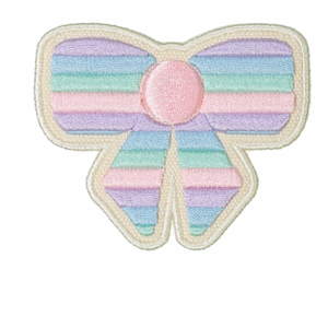 STONEY CLOVER LANE - Patch - Pastel Embroidery Bow