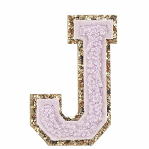 "STONEY CLOVER LANE - ""J"" Patch in Lilac"