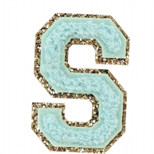 "STONEY CLOVER LANE - ""S"" Patch in Cotton Candy"