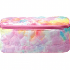 Iscream - Cotton Candy Heart Quilted Cosmetic Case