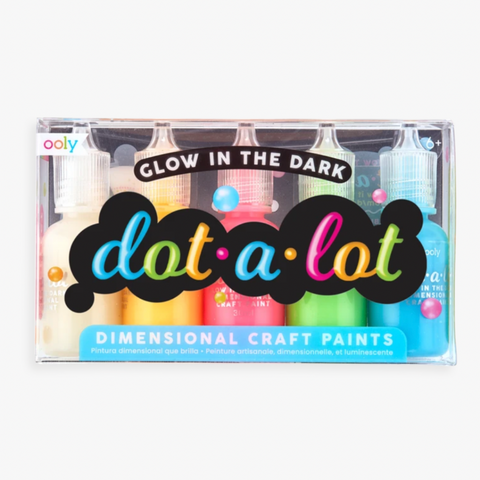 ooly - Dot-A-Lot Glow in the Dark Craft Paint