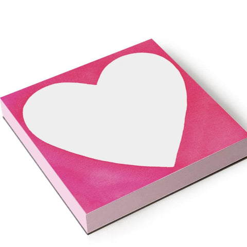 E. Frances - Chubby Heart Notepad